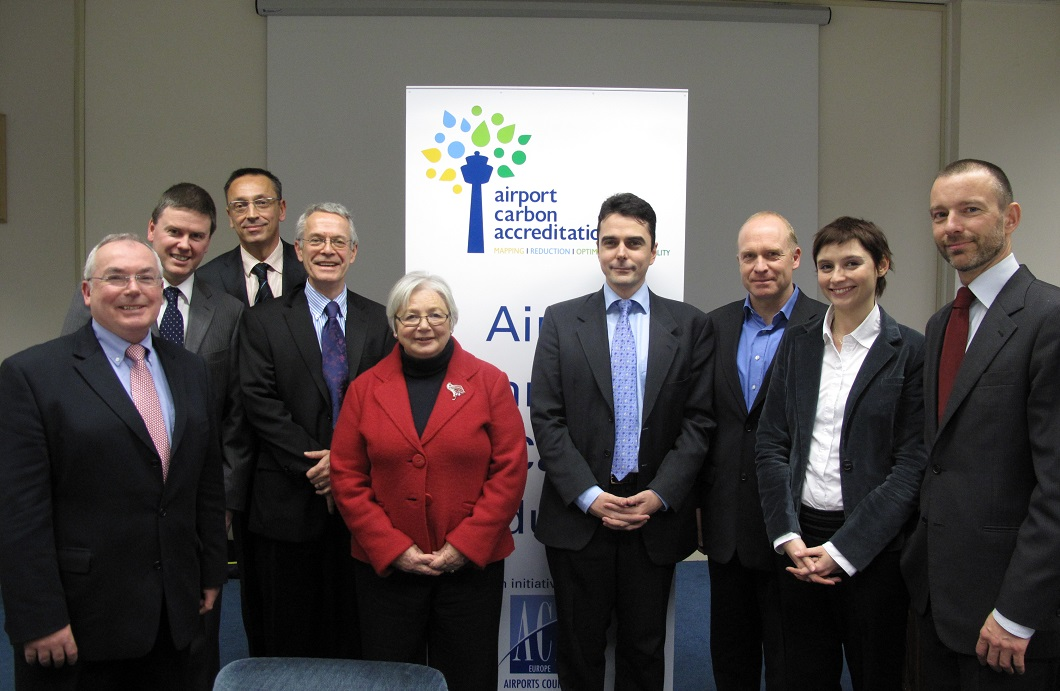 First meeting of the Airport Carbon Accreditation Advisory Board, December 2009
